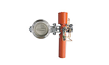 Butterfly Type Control Valves